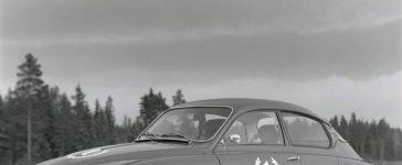 The first Finnish Saab 96