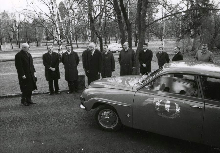 The First Saab 96
