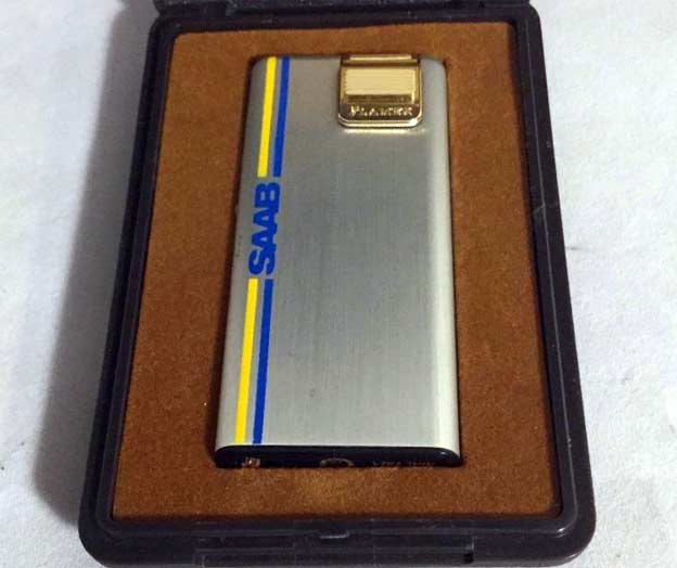 Vintage Flamex Saab lighter