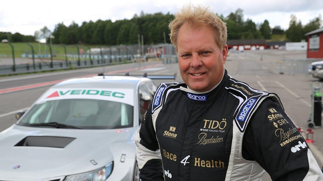 """First test for """"Flash"""" in Saab 9-3 STCC completed"""