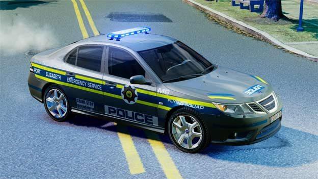 Saab 9-3 2008 Port Elizabeth Flying Squad