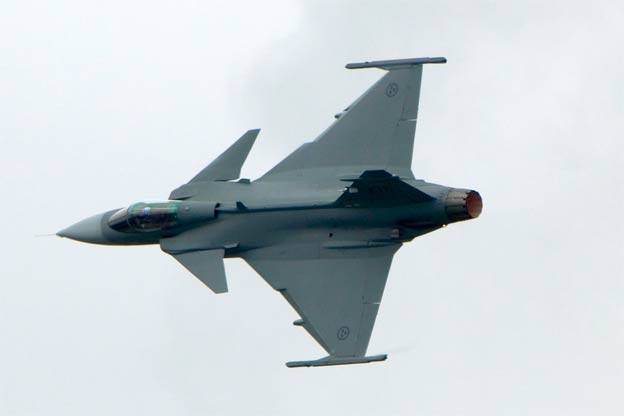 Saab gets funds for Czech Gripen upgrade