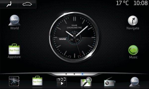 Saab IQon – Google Android based infotainment systems in