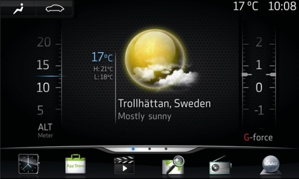 IQon - Google Android based infotainment system in Saab Automobile
