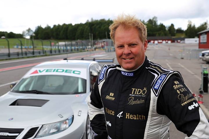 P3 for Richard Göransson in Saab 9-3 at Solvalla