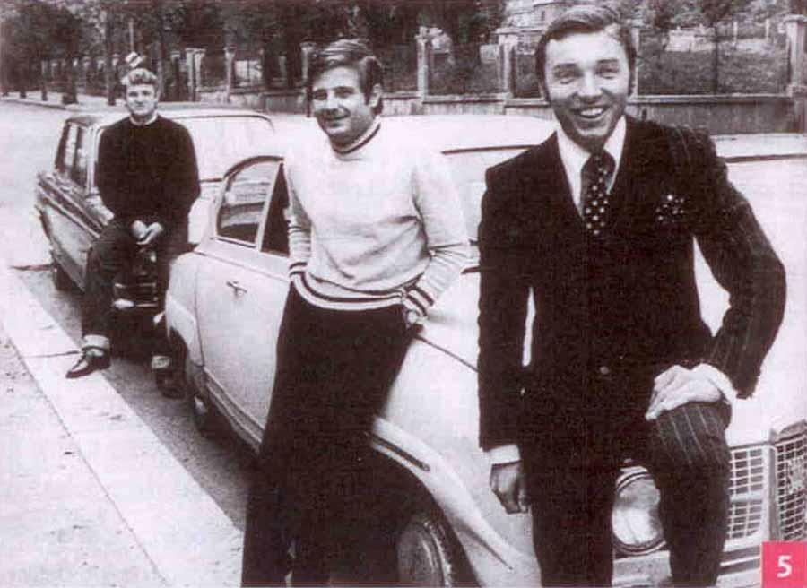 Karel Goot and his Saab 96