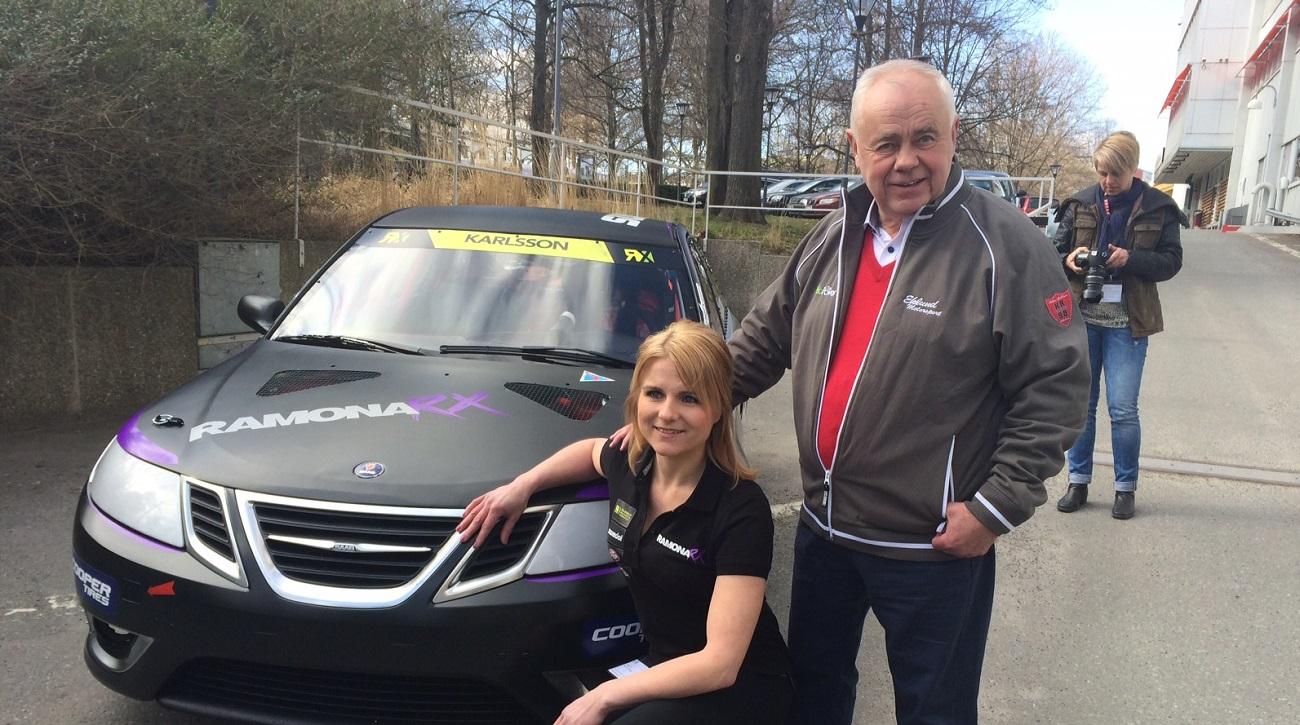Ramona Karlsson becomes first female World Rallycross driver