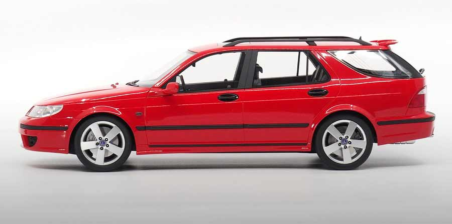 Saab 9-5 Sportcombi Aero 2005 - First time DNA Collectibles launch a multi-color option model