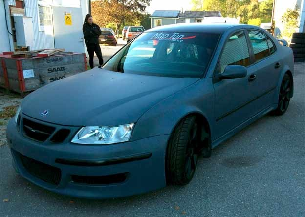 Maptun Performance Saab 9-3 project car