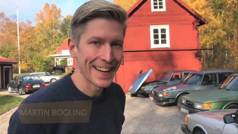Super Saab Collector Martin Boglind