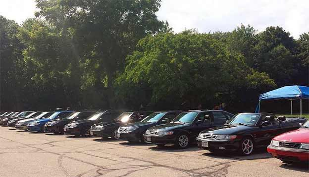 Milwaukee Saab Club Meeting