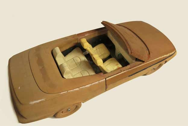 Scale model-Saab 900 NG