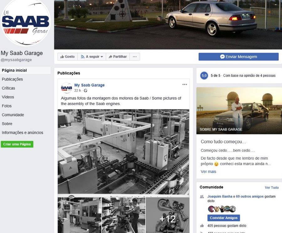 My Saab Garage Portugal