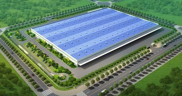 Nevs (Saab) new plant in China