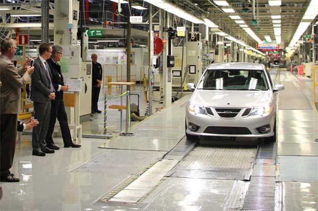 Nevs Saab plant