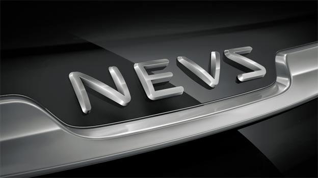 New NEVS logo