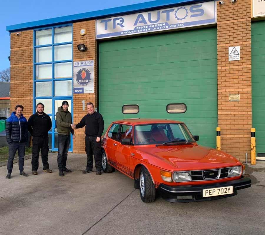 new owner of Saab 99 Turbo