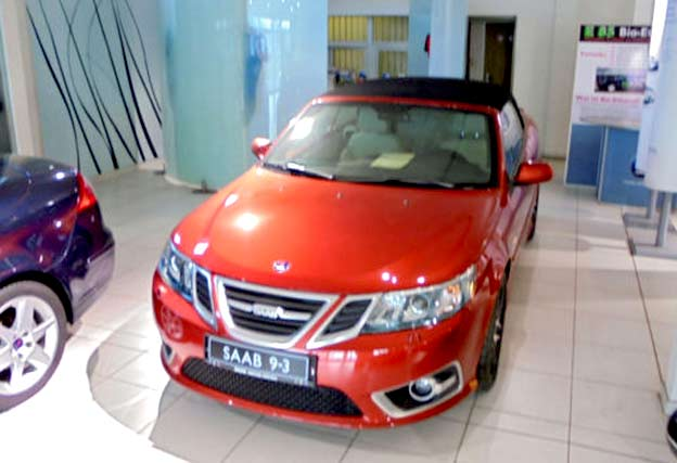 Saab 9-3 Cabrio 2.0T BP Aut.Griffin Aero Independence