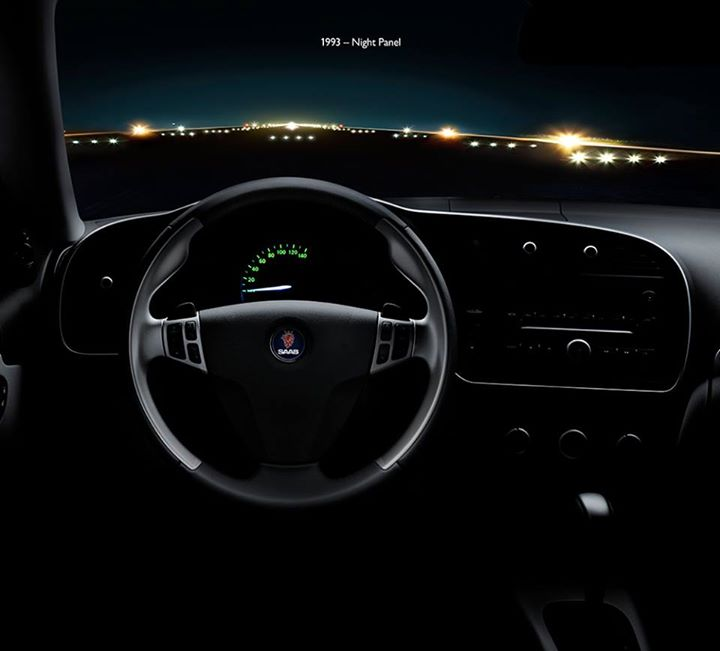 "Saab ""Night panel"" feature"