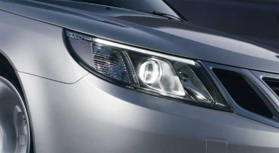 Saab 9-3 Headligth unit - for outside the US and Canada markets