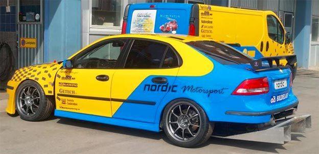 Nordic Motorsport TA Saab 9-3
