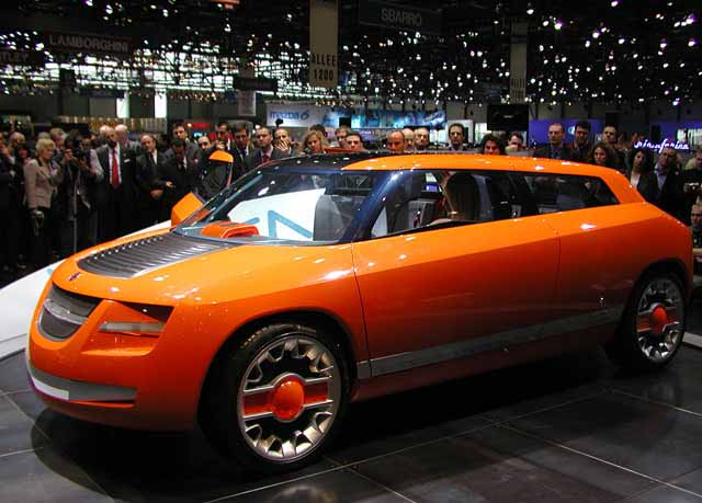 Bertone Novanta - Saab 9-5 Concept by Bertone and SKF