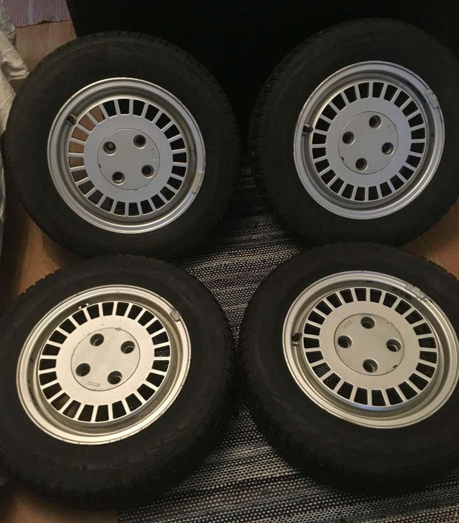 """US Turbo"" (Ronal AERO) Wheels for Saab cars"