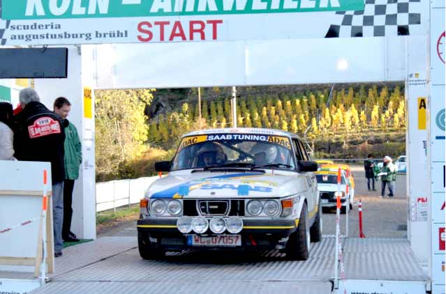 Ex-Per Eklund style - 1982 Saab 99 Rally for Sale