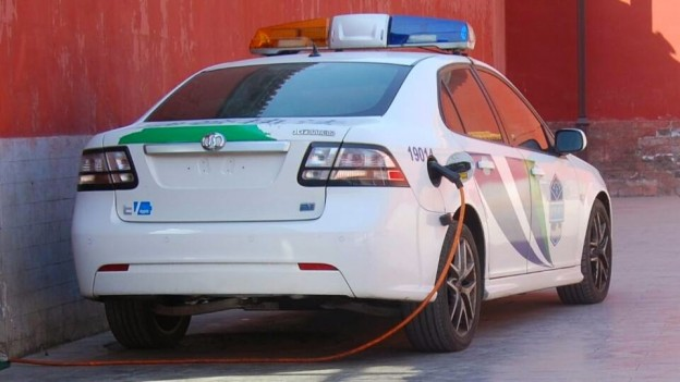 Electric Q60FB-ACP EV police car