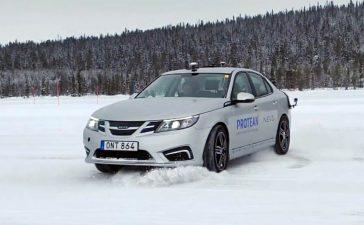 Protean NEVS 93 Winter Testing