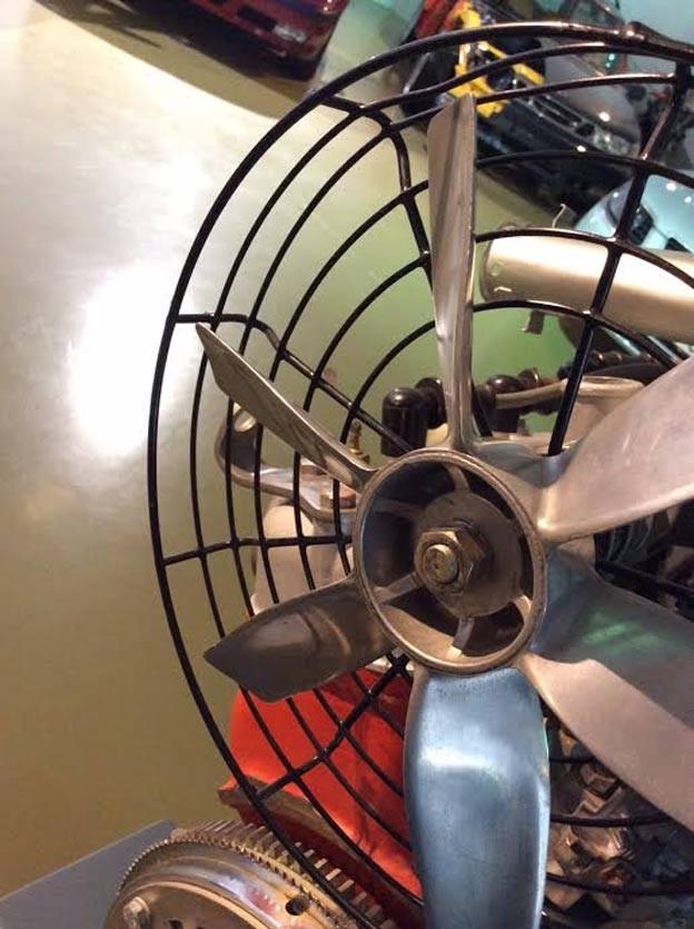 radiator fan saab 93