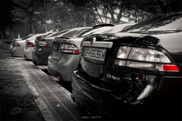 Singaporean Saab fleet