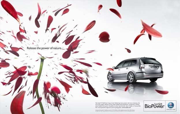 Saab Print Ad