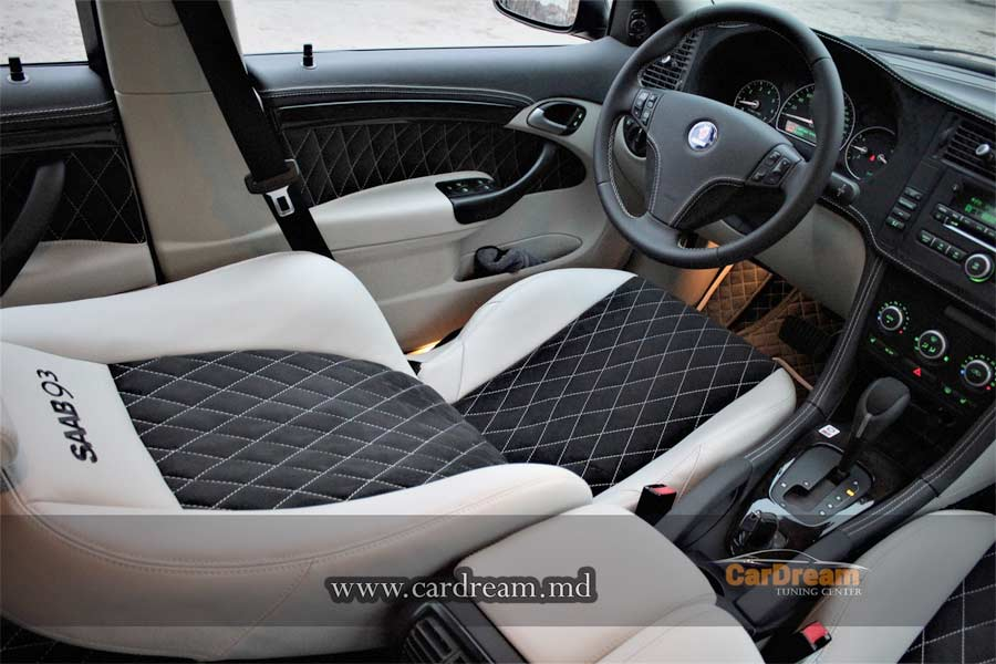 renewed saab interior