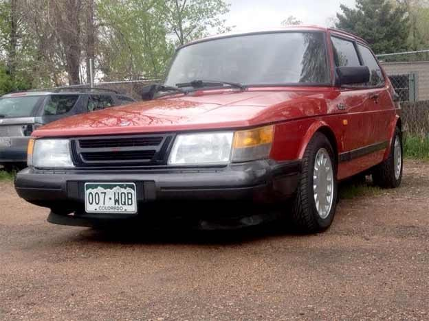 Restored Saab 900 Turbo