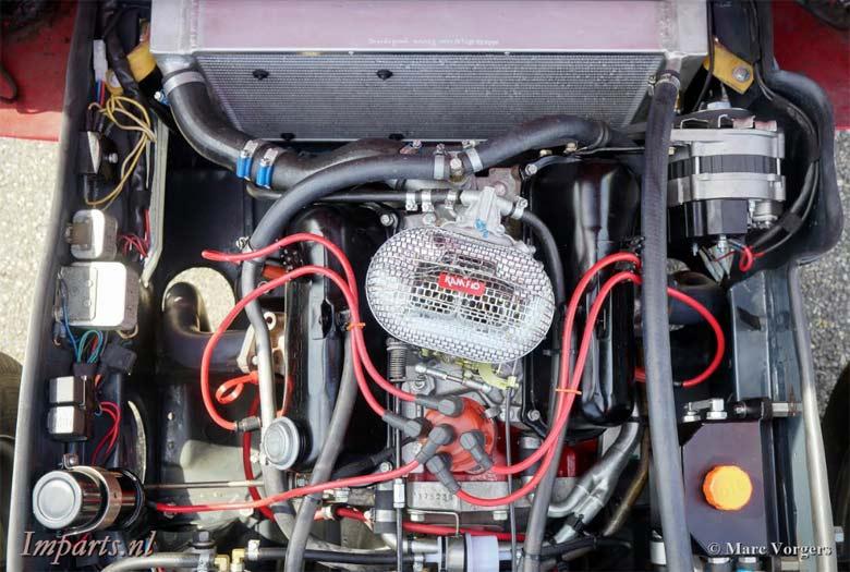 Restored Saab Sonett II