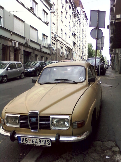 SAAB on Belgrade street