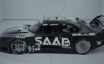 The Saab S9 Concept by Ash Thorp