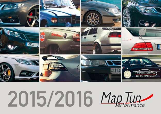 Saab 2016 Maptun calendar