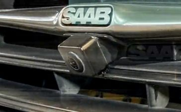 Saab 9-3 360 degree panoramic view car camera