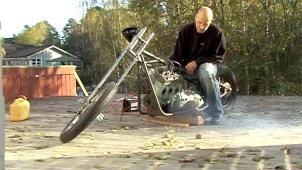 Saab 666 2-stroke bike