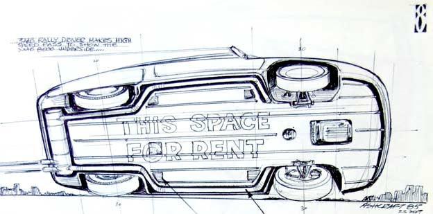 Saab 8000 Underbody
