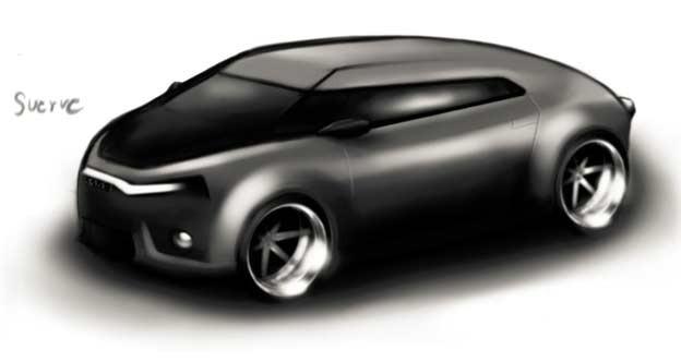 Saab 9-1 Sketch