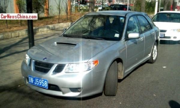 Saab 9-2x china