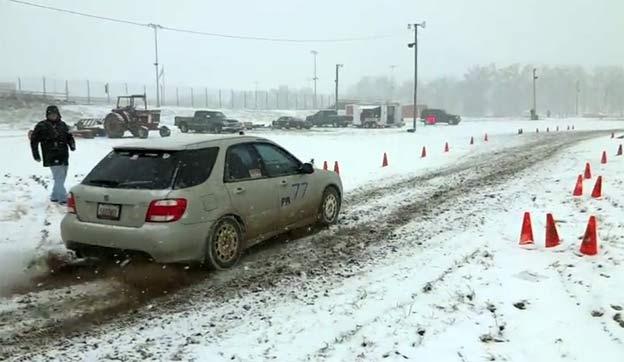 SAAB 9-2X Snow SCCA RallyX
