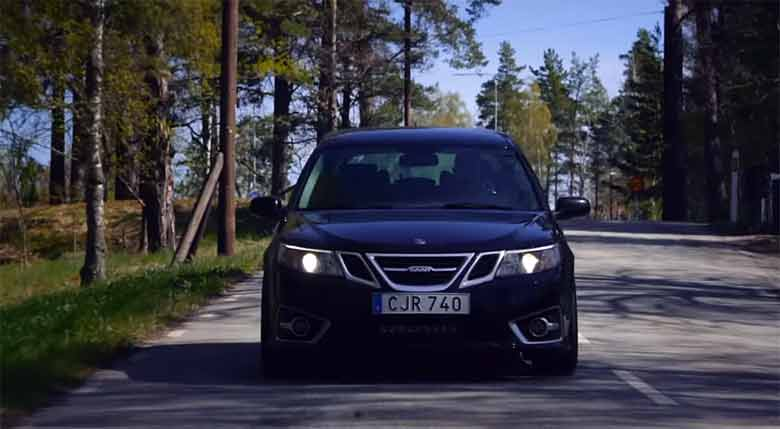 "Saab 9-3 in movie ""Parts for Life"""
