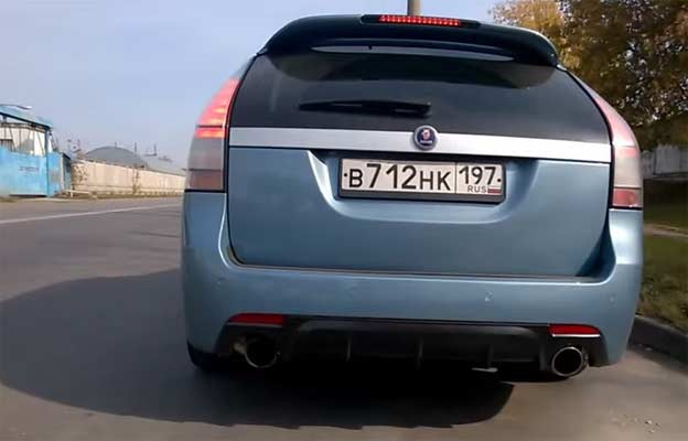 SAAB 9-3 Hirsch Performance Exhaust Sound