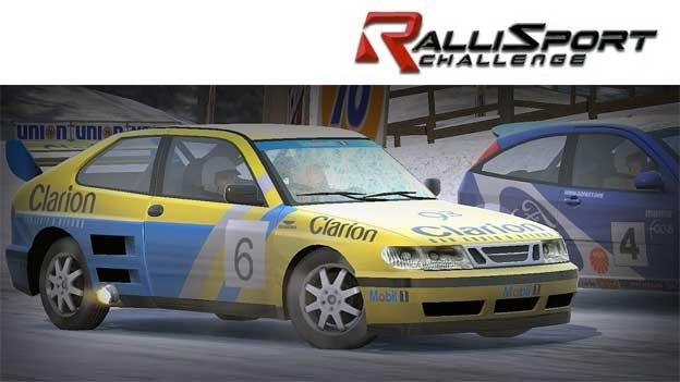 "Saab 9-3 T16 4x4 in video game ""Rallisport Challenge"""
