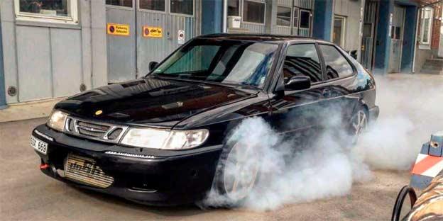 Tuned Saab 9-3 Aero