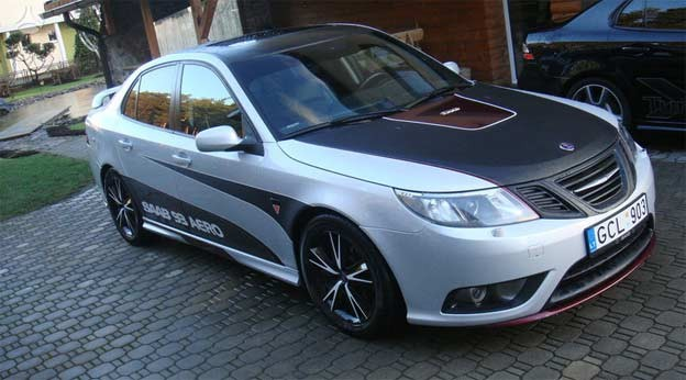 beautiful saab 9 3 aero 2 8 on sale saab planet. Black Bedroom Furniture Sets. Home Design Ideas